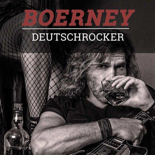Album CD Cover Boerney Deutschrocker